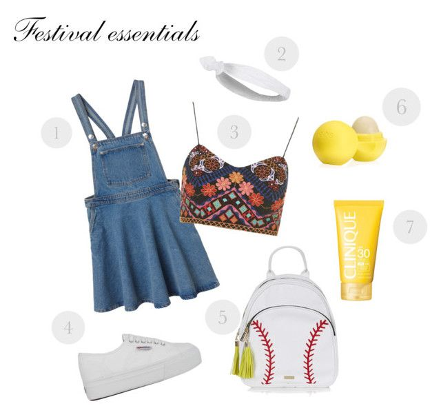 1. Julia denim dress- 180 RON 2. TOPSHOP Headband - 13 RON 3. TOPSHOP top- 190 RON 4. Superga Sneakers- 235 RON 5. TOPSHOP backpack- 240 RON 6. eos  SPF 15 Lip Balm - 16 RON 7. CLINIQUE Body Cream SPF 30- 125 RON