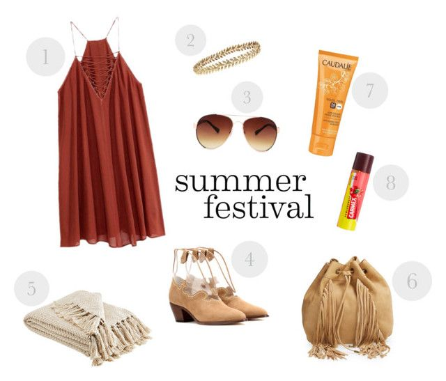 1. Racerback Dress- 140 RON   2.Grecian  Crown- 775 RON 3. Mango Sunglasses - 71 RON 4. Charlotte Olympia Eastwood Suede Ankle Boots- 2.895 RON 5. Blanket- 125 RON 6. Steve Madden Backpack- 430 RON 7. Caudalie face suncare- 125 RON 8. Carmex lip balm SPF 15- 14 RON